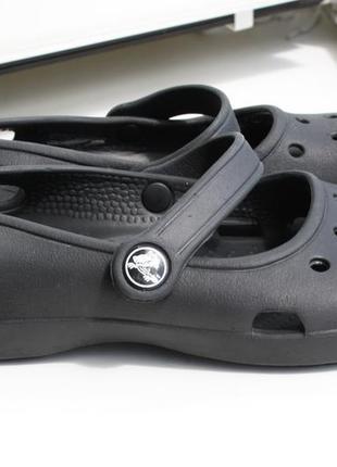 Балетки кроксы crocs размер w5 \ 34-35