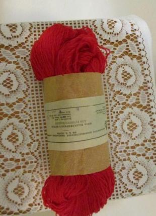 Синтетические нитки для вязания синтетика ссср