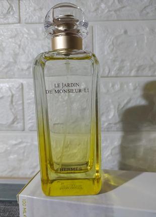 Духи hermes le jardin de monsieur li 80 ml оригинал