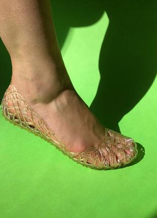 Туфли силиконовые балетки ажурные аквашузы коралки