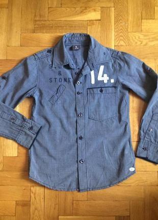 Мега крутая рубашка,хлопок,от бренда baker bridge,оригинал