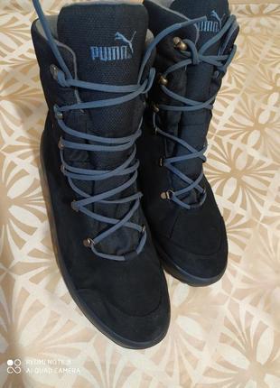 Ультралегкие зимние на gore-tex с натуральным утеплителем ботинки puma