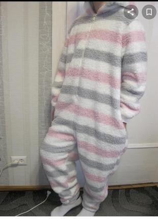 Нереальная нежная  меховая пижама кигуруми