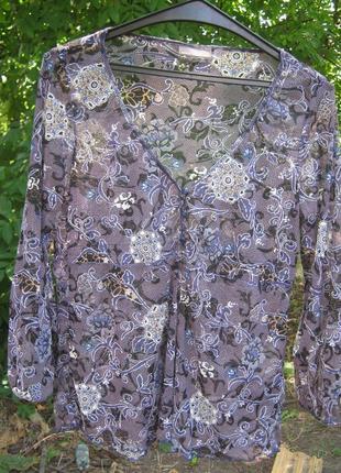 Блуза  в цветы mexx