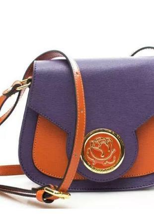 Braccialini новая кожанная сумка