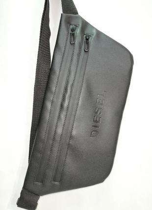 Новая шикарная стильная бананка pu кожа , сумка на пояс/через плечо / клатч