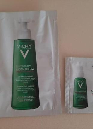 Vichy  normaderm пробники