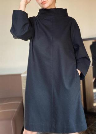 Шерстяное платье оверзайз cos