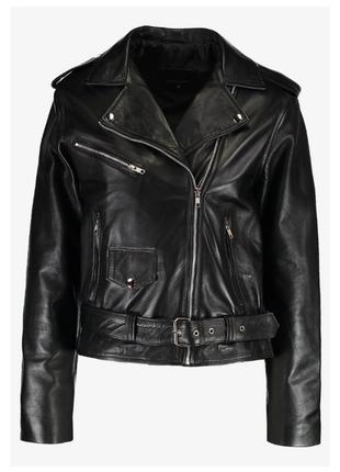 Новая идеальная оверсайз косуха 12 midnight 100% кожа m, l кожаная куртка