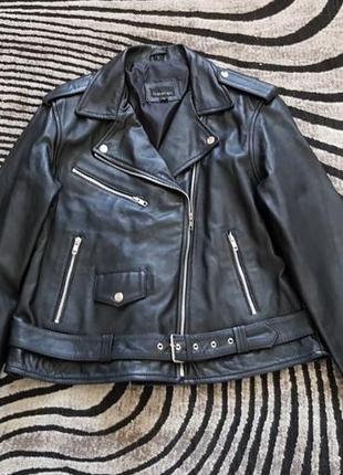 Новая идеальная косуха 12 midnight 100% кожа m, l кожаная куртка