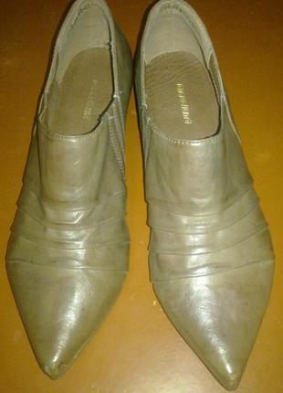 Туфли grageland германия, натурал.кожа, 37раз. сток