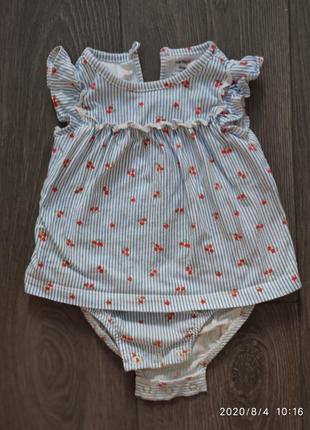 Платье- бодик carter's
