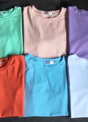Стильная лавандовая футболка