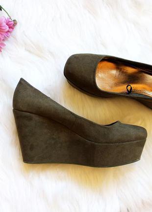 Туфли на платформе h&m