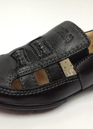 Кожа, туфли мокасины для мальчика.