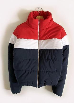 Идеальная теплая куртка пуффер oversize rising по типу bershka