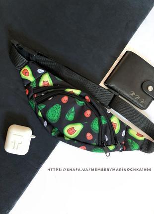 Новая классная качественная сумка - бананка через плече на пояс/ кросбоди / клатч