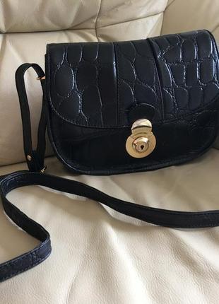 Кожанная сумка кроссбоди 100%кожа натуральная