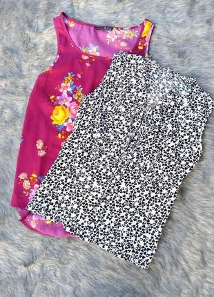 Хлопковая блуза в сердечки marks & spencer