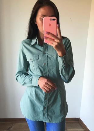 Рубашки мятного цвета