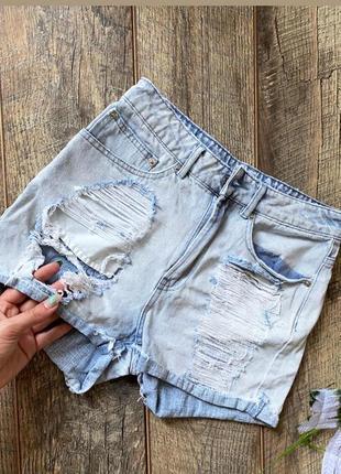 Джинсовые шорты , оригинал bik bok