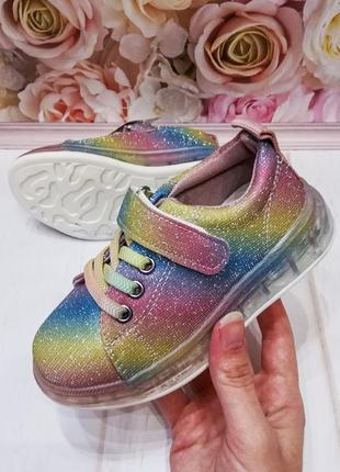 Детские кроссовки на девочку, 26-31