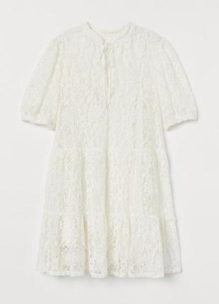 Мереживне плаття h&m3 фото