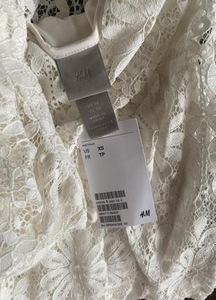 Мереживне плаття h&m4 фото