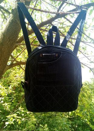Джинсовый рюкзак 03