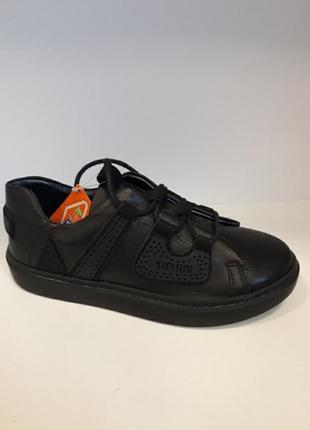 Туфлі спортивні шкіряні