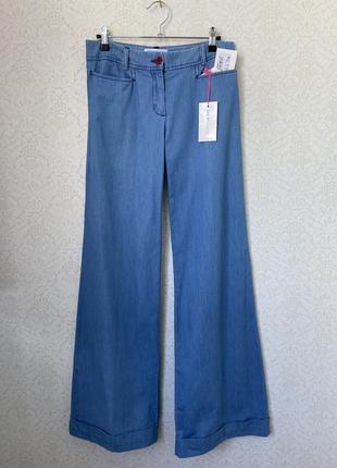 See by chloe широкие джинсы брюки палаццо