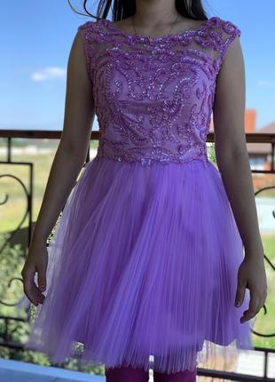 Коктейльное платье, платье на выпускной.