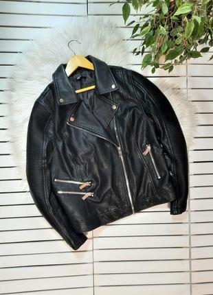 Куртка косуха эко кожа kappahl p. xl