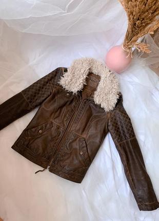 Куртка кожанка, кожаная курточка, косуха, куртка zara