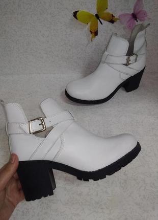Кожаные ботинки andre (андре) 39р.