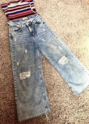 Очень крутые джинсы мом