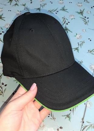 🎁1+1=3 базовая черная кепка creabeton