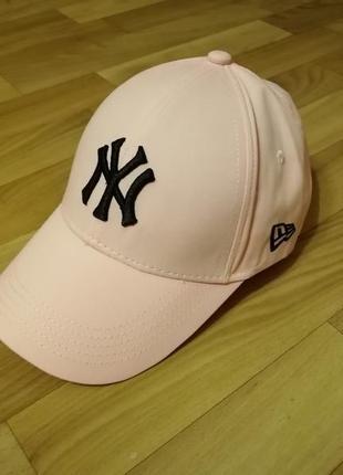 Классная кепка бейсболка персик 56-58