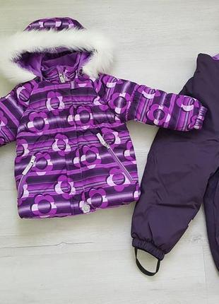 Зимний костюм lenne 92+6 см