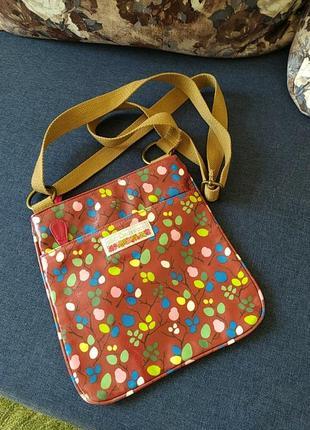 Julie dodsworth великобритания сумка кроссбоди в винтажном стиле