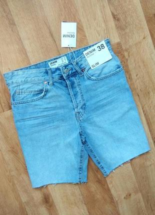Bershka джинсовые шорты