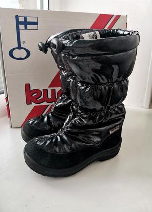 Зимние сапоги ботинки kuoma
