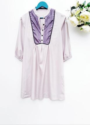 Красивое легкое платье на лето платье с пуговицами практичное платье
