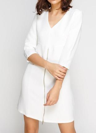 Белое коктейльное платье pimkie / s