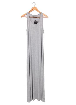 Платье майка длинное