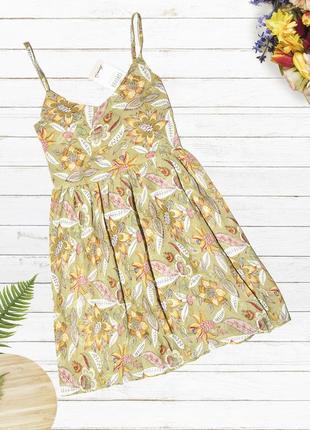 Новое легкое платье denim co