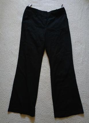 Классические черные брюки next