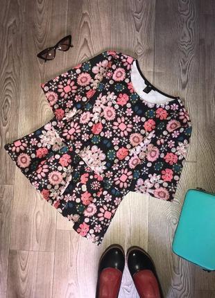 Блуза. блузка. футболка. р.l. h&m.