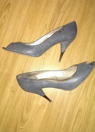 Туфли с отрытым носом 41 размер