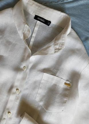 Белая рубашка max&co размер м2 фото